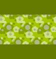flower minimalist style seamless pattern vector image