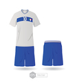 Italy team uniform 01 vector image