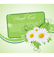 floral cards templates vector image vector image