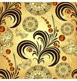 Golden seamless gradient pattern vector image