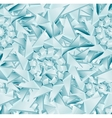 Seamless ice pattern EPS 10 vector image