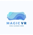 Magic Virtual Reality Abstract vector image
