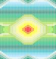 crochet rainbow seamless vector image