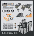 infographic industrial resize vector image