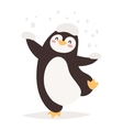 Penguin character vector image