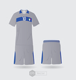 Italy team uniform 02 vector image vector image