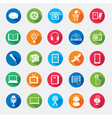 Set of web icons vector image