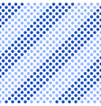 Seamless pattern Diagonal blue stripes vector image