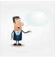 businessman in a suit vector image
