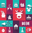 Happy-New-Year-icons vector image
