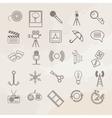 Universal icon set vector image