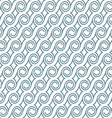 Seamless elegant pattern with swirls vector image