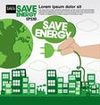 Green concept EPS10 vector image vector image