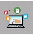 responsive web design editable vector image