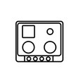 cooctop icon vector image