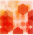 orange abstract background - trendy business vector image