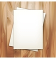 note sheets of paper vector image