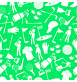 golf sport simple icons seamless pattern eps10 vector image