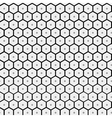 Abstract minimalistic pattern hexagon vector image