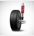 Car Suspension vector image