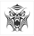 Virus computer Demon Phantom Alien Predator vector image