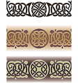Celtic tattoo pattern vector image