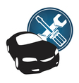 Repair car vector image