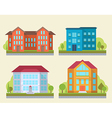 office or adiministrative buildings vector image