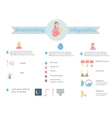 Infographics on the Facts and Features of vector image