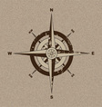 Canvas compass vector image