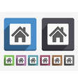 Flat House Icon vector image