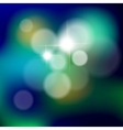 Blue Bokeh background vector image