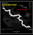 eaglesong highway speed track black vector image