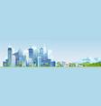 urban industrial city vector image
