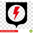 Electric Protection Eps Icon vector image