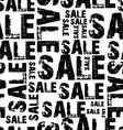 seamless sale background vector image vector image