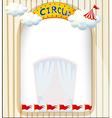A circus entrance vector image vector image