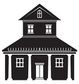 House icon4 resize vector image vector image