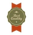 Best quality vintage banner vector image