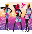 summer fashion vector image