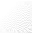 White geometric texture vector image vector image