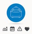 multicooker icon kitchen electric device symbol vector image