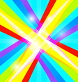 Abstract Retro Colorful Background vector image vector image