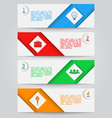 Banners 2 vector image