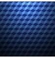 Geometric 3d cubes vector image