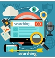 Searching Concept vector image
