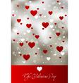 valentine art background vector image vector image