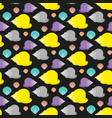 shell flat pattern vector image