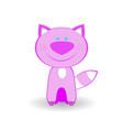 little kitty vector image