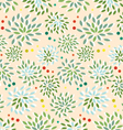 seamless-floral-pattern vector image vector image